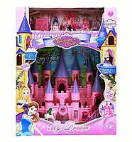 Замок принцессы SG-2976, замок 35*33*10 см, фигурки, мебель, карета с лошадью, музыка, свет, на батарейках