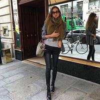 Женские кожанные штаны а849