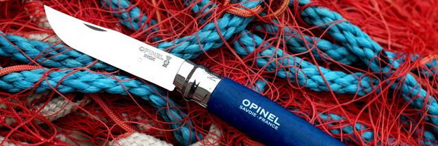 Нож Opinel Trekking №8 VRI синий (001704)
