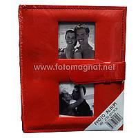 Фотоальбом с застёжкой (альбом для фотографий) 200/10Х15см