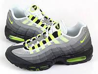 "Кроссовки мужские Nike Air Max 95 GS ""Greedy"" серые"