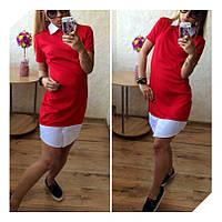 Женское платье воротничек а900