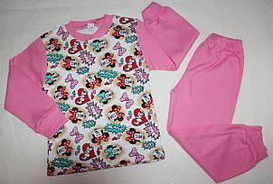 Пижама на девочку 100 % хлопок 7,8 лет