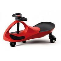 Машинка детская, БИБИКАР с полиуретановыми колесами, красная