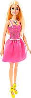Кукла Барби Блестящая блондинка в розовом платье, Barbie, Mattel