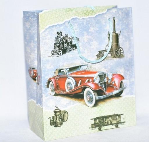 Пакет подарочный 355-13 18х21см