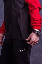 Анорак Nike (серо-черный), фото 3