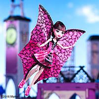 Кукла Monster High Ghoul-to-Bat Transformation Draculaura Дракулаура с крыльями улетная