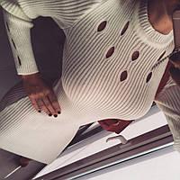 Женское платье из шерсти