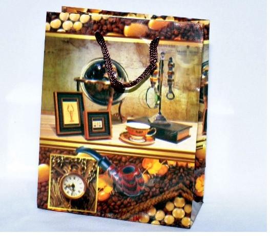 Пакет подарочный 1040-3. 24х19см