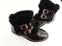 Ботинки демисезонные для девочек  Размеры 33,34, фото 1
