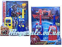 """Детский игровой набор раций """"Супергерои"""", 2 вида: 2 детские рации в комплекте"""
