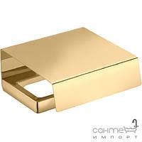 Аксессуары для ванной комнаты Colombo Design Держатель для туалетной бумаги с крышкой, золото Colombo Lulu B6291