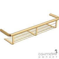 Аксессуары для ванной комнаты Colombo Design Полочка для ванны 47 см, золото Colombo Lulu B6233