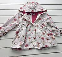 Детская осенняя  весенняя куртка для девочки на 3-6 лет