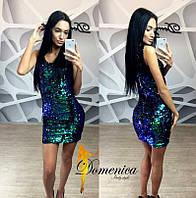 Яркое женское платье к-31032590
