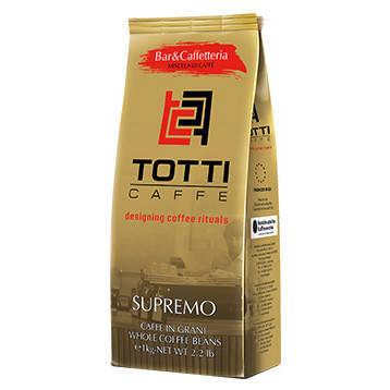 Кофе в зернах Totti caffe TUO SUPREMO, 1кг.
