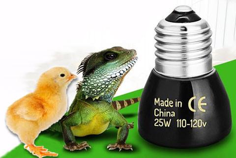 Греющие лампы: керамическая лампа излучатель обогрева животных