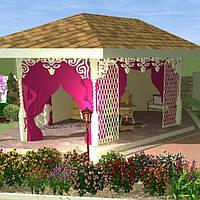 Дизайн малых архитектурных форм в ландшафте (МАФ)