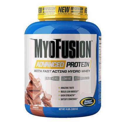 MyoFusion Advanced Gaspari Nutrition 1814 g Chocolate Mint, фото 2