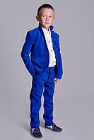 Вельветовый брючный костюм для мальчика ев2108