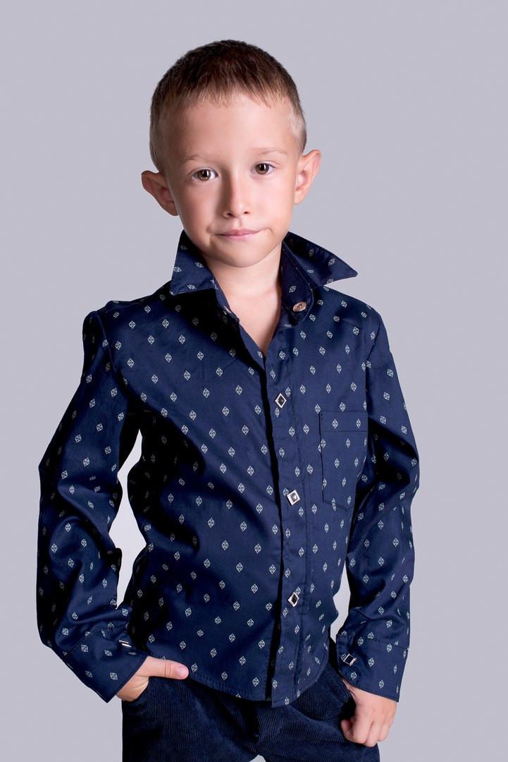 Рубашка для мальчика ев2102