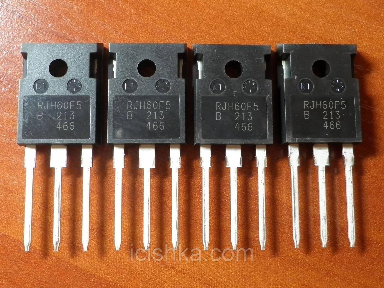 RJH60F5DPQ-A0 / RJH60F5 TO-247A - 600V 40A NPT IGBT транзистор НОВЫЙ