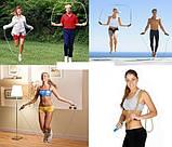 Скакалка со счетчиком калорий Jianle Jump Rope - способ быстро похудеть, фото 6