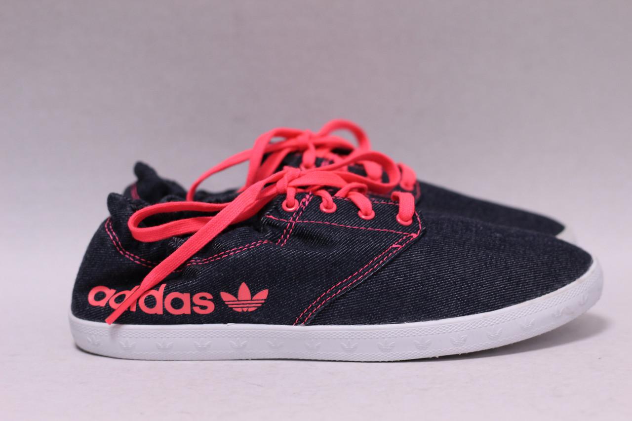 Джинсовые мокасины Adidas 37р.