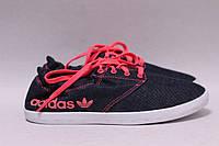 Джинсовые мокасины Adidas 36р., фото 1