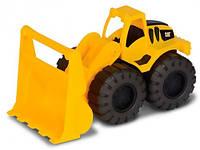 Toy State  Погрузчик CAT. Мини-строительная техника 25 см (82023)