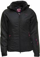 Женская горнолыжная куртка от ENVY REVA Black jacket в размере L