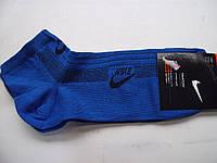 Мужские спортивные короткие носки Nike синие