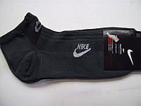 Спортивные мужские короткие носки Nike серые
