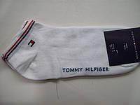 Короткие мужские носки Tommy Hilfiger следы белые