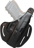 Кобура BLACKHAWK! 3-Slot Pancake Holster для Glock 17/22/31 кожа черный, фото 1