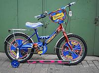 """Велосипед детский 14 дюймов спортивный двухколесный Mustang Pilot """"Пират"""""""