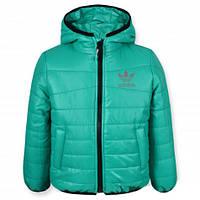 Куртка демисезонная СПОРТ зеленая, р.98,110,116