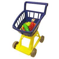 Тележка с корзиной и с овощами Orion Toys 693