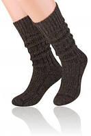 Мужские теплые носки - гольфы шерстяные  Steven  25 / M / 38-40