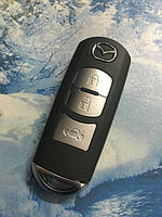 SKE13E-01 NXP7953 SMART 433 Mhz Mitsubishi смарт ключ Mazda SKYACTIV Demio Axela Premacy Atenza 2 3 5 6 CX5