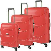 Комплект чемоданов PUCCINI Miami  PP011 Polipropilen новинка 2017 Одесса