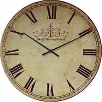 Часы настенные из стекла - классика (немецкий механизм)