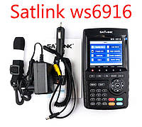 Satlink WS-6916 DVB-S/S2 HD  прибор для настройки спутниковых антенн