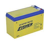 GEL аккумулятор 7Ah 12B Fisher