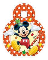 Медаль Микки Маус на ленте 74мм диаметр