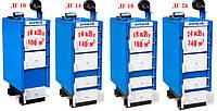 Твердотопливный котел длительного горения Буржуй DELUX ДГ 18 (мощность 18 кВт)