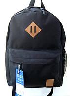 Городской рюкзак BagLand черный, школьный портфель, прочный и стильный