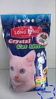Селікагелевий наповнювач для туалету LONG FENG Crystal Cat Litters 5l (із запахом квітів)