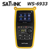 Прибор для настройки спутниковой антенны Satlink WS-6933 DVB-S2 FTA